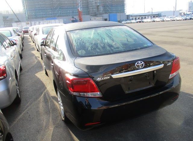 TOYOTA ALLION-G 2017 full